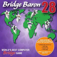 Bridge Baron 28 World's Best Computer Bridge Game - Vince Oddy Books & Games