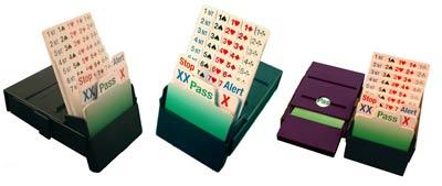 Bridge Partner Bidding Boxes